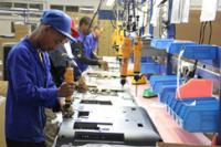 Electronics manufacturing at Tellumat's state-of-the-art factory in Atlantis, north of Cape Town (Photo: Tellumat)