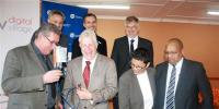 Free wireless internet was officially launched at the Touwsranten Community Hall today by Alan Winde, Minister of Economic Opportunities.