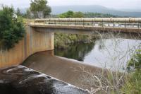 The Garden Route Dam is overflowing. (Photo: Pauline Lourens)