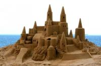 Sandcastle competition in Knysna and Plett