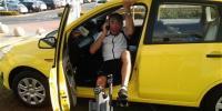 Andr� van Zijl in the Ford Figo.