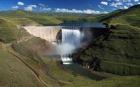 The Katse Dam on the Malibamat'so River in Lesotho (Photo: Aurecon Group)