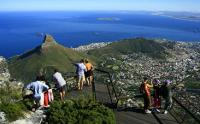 Sightseeing from Table Mountain, Cape Town. (Image: Cape Town Tourism )