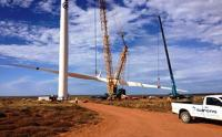 The Western Cape Sere wind farm aims to harvest wind energy, boosting South Africa�s plans to move away from coal to cleaner energy sources. (Photo: Eskom)