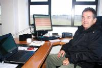 Danie Ferreira, new chief of the George weather bureau. (Photo: Alida de Beer)