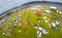 The Knysna Motor Show is a spectacular celebration of all things that make petrolheads' hearts beat faster. This image of a previous show was taken by a drone. This year's event will take place on May 9.
