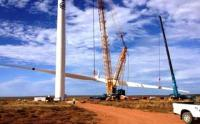 Sere wind farm is Eskom's first commercial scale wind energy project. It is on the windy Atlantic coast, near Vredendal. (Image: Eskom)