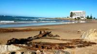 An old shipwreck uncovered on Central Beach, Plettenberg Bay when sand was washed away during a storm, sparked interest in the areas maritime heritage amongst residents.