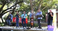 The iconic bluegrass band Blacksmith will delight the crowd during the Celtic Concert on Saturday, February 28