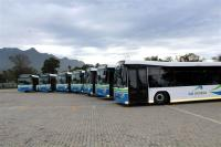 his Saturday, GO GEORGE buses will start operating on routes between the CBD and Blanco, Heatherlands and Heather Park.