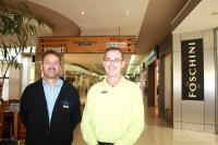 Garden Route Mall Operations Manager Geoff Warner (left) and Centre Manager Rion Olivier. The mall is exploring the possibility of installing generators. (Photo:  Alida De Beer)