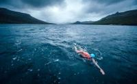 Lewis Pugh had to abandon his first Antarctic swim � at Campbell Island on 14 February 2015 - after he was chased by a sea lion.
