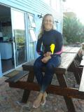 Stefni Muller saved a British tourist from drowning at Buffel's Bay.