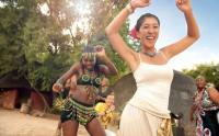 Learning to dance like a local at one of South Africa's cultural villages (Photo: South African Tourism)