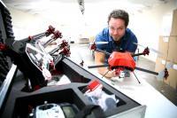 Duran de Villiers, owner of Knysna drone manufacturing enterprise, SteadiDrone. (Photo: Ewald Stander.)