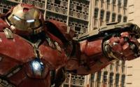 Wearing a Hulk buster suit, Iron Man takes on The Hulk in the inner city streets of Joburg. (Image: Media Club South Africa)