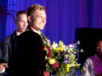 Mr Germany, 21-year-old Klaus Burkart, was crowned Mr Gay World 2015 in Knysna