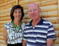 After serving three years on the Knysna & Partners Board, Kathy White (left) hands the reins of chairperson over to Philip Hendrickse (Photo: Fran Kirsten).