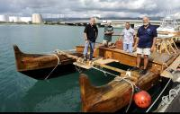 "The canoe Hokulea (""Star of Gladness"") is a replica of ancient canoes that were once used to bring the first Polynesians to the archipelago of Hawaii. (Photo: Bruce Asato)"