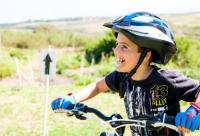 Dewald's (12) biggest dream was to have is his own blue mountain bike. He was ecstatic to have this dream fulfilled. The day after receiving his bicycle he completed his first 10km fun ride.