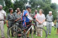 Ranger cycles 6 000km for National Parks
