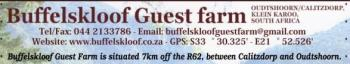 Buffelskloof Guest Farm: Buffelskloof Guest Farm