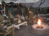 Ivory Sands Safari Lodge: Ivory Sands camp fire area