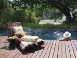 Rhino Post Safari Lodge - Rhino Walking Safaris: Rhino Post Safari Lodge pool side
