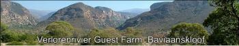 Verloren Rivier Guest Farm: Verlorenrivier Guest Farm Baviaanskloof