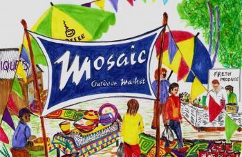 Mosaic Village and Outdoor Market: Mosaic Village and Outdoor Market