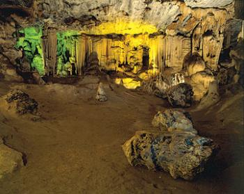 Cango Caves: Precambrian limestones at the foothills of the Swartberg