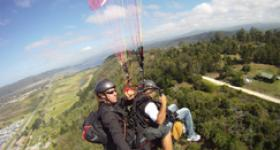 Tandem paragliding on the beautiful Garden Route (Photo: Fly Time Paragliding)