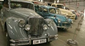 Vintage cars at the Outeniqua Transport Museum