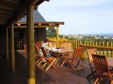 Wooden deck with awesome view
