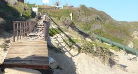 The boardwalk Brenton on Sea Garden Route South Africa. Photo: Gardenroute.com