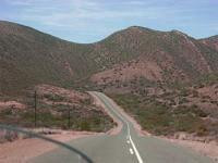 Route 62 in the Western Cape province, runs from Cape Town to the Garden Route of South Africa