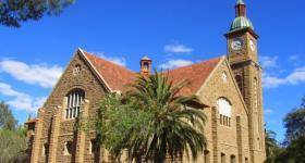 Calitzdorp Dutch Reformed Church Garden Route Western Cape South Africa