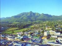 Aerial View of George Garden Route South Africa