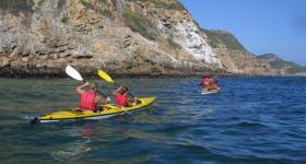 Canoeing in Plettenberg Bay