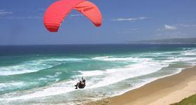 Paragliding in Wilderness Garden Route