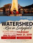 Watershed Live in Sedgefield