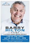 Barry Hilton Live at the Links