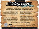 Plett Watercourse History Festival