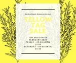 Yellow tag sale at the Garden Route Botanical Garden