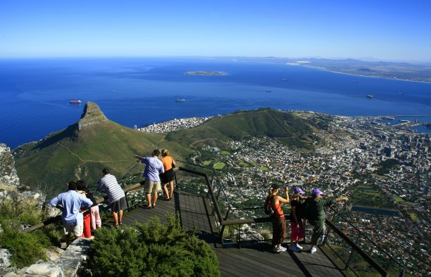 Cape Town Western Cape South Africa Travel Accommodation - Table top mountain south africa