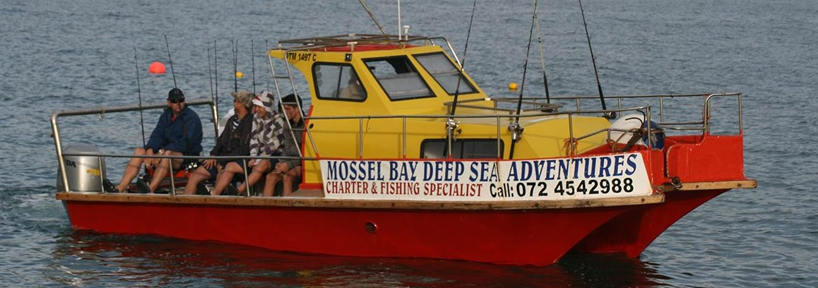 Mossel bay sports leisure boating fishing page 1 for Deep sea fishing bay area