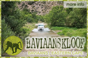 Baviaans Tourism Office: Baviaans Kloof Tourism Office