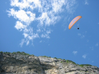 Cloudbase Paragliding Wilderness