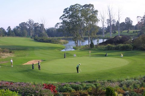 Golfing in George Garden Route South Africa