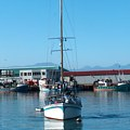 Mooring a boat in Mossel Bay Harbour